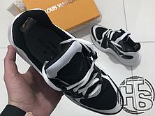 Женские кроссовки реплика Louis Vuitton LV Archlight Sneaker White/Black 1A43K5, фото 3