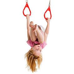 Кольца на веревках для детских площадок, акробатические кольца