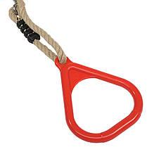 Кольца на веревках для детских площадок, акробатические кольца, фото 2