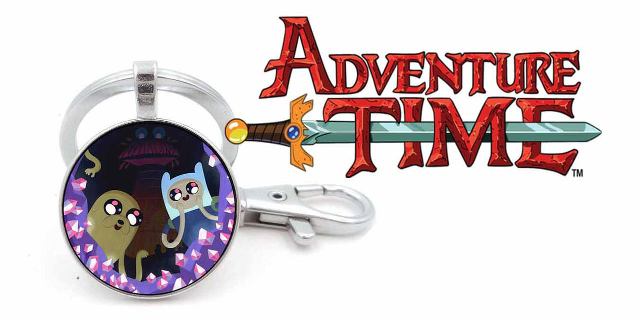 Брелок Adventure time Время приключений с кристалликами