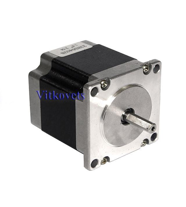 Шаговый двигатель 23HS6403B  2.5A 1.1N.m (вал на две стороны)