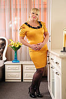Атласные женские платья 50-52