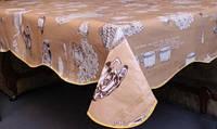 """Скатерть на основе """"Volna"""" на прямоугольный кухонный стол 120х150см (3112/11)"""