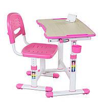 Комплект парта и стул-трансформеры Piccolino II Pink, FunDesk