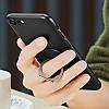 Кольцо держатель для iphone, смартфона, телефона от ESR black silver (черный с серебром)