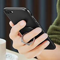 Кольцо держатель для iphone, смартфона, телефона от ESR black silver (черный с серебром), фото 1