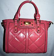 Женская модная пудровая сумка на один отдел с ремешком 26*21 см