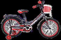 """Велосипед , детский велосипед, велосипеды Titan Jet 20"""" Gray-Red"""