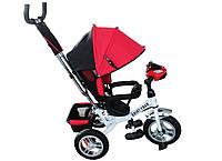 Велоколяска, велосипед трехколесный, велосипед детский Titan Baby-Trike White-Red (камера)
