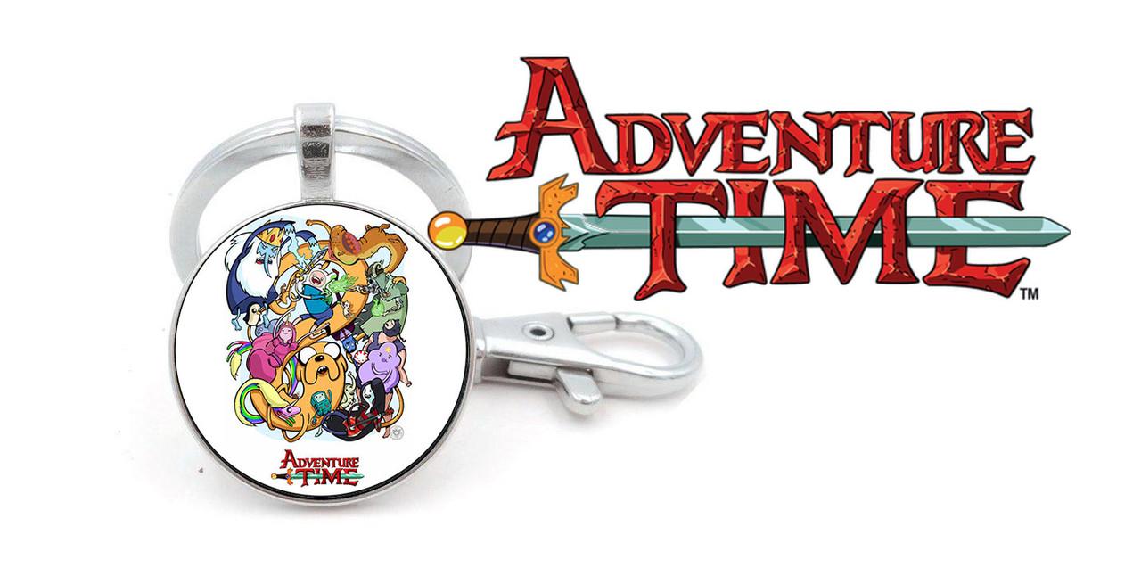 Подвеска  Adventure time все герои Время приключений