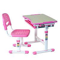 Комплект Парта і стілець-трансформери Piccolino Pink, FunDesk, фото 1