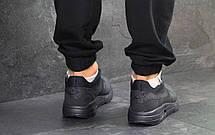 Модные кроссовки Nike Air Max 1 Flyknit, темно синие, летние, фото 2