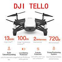 Квадрокоптер DJI Tello 5Мп датчики припятствий 13 мин полета 100 м дальность