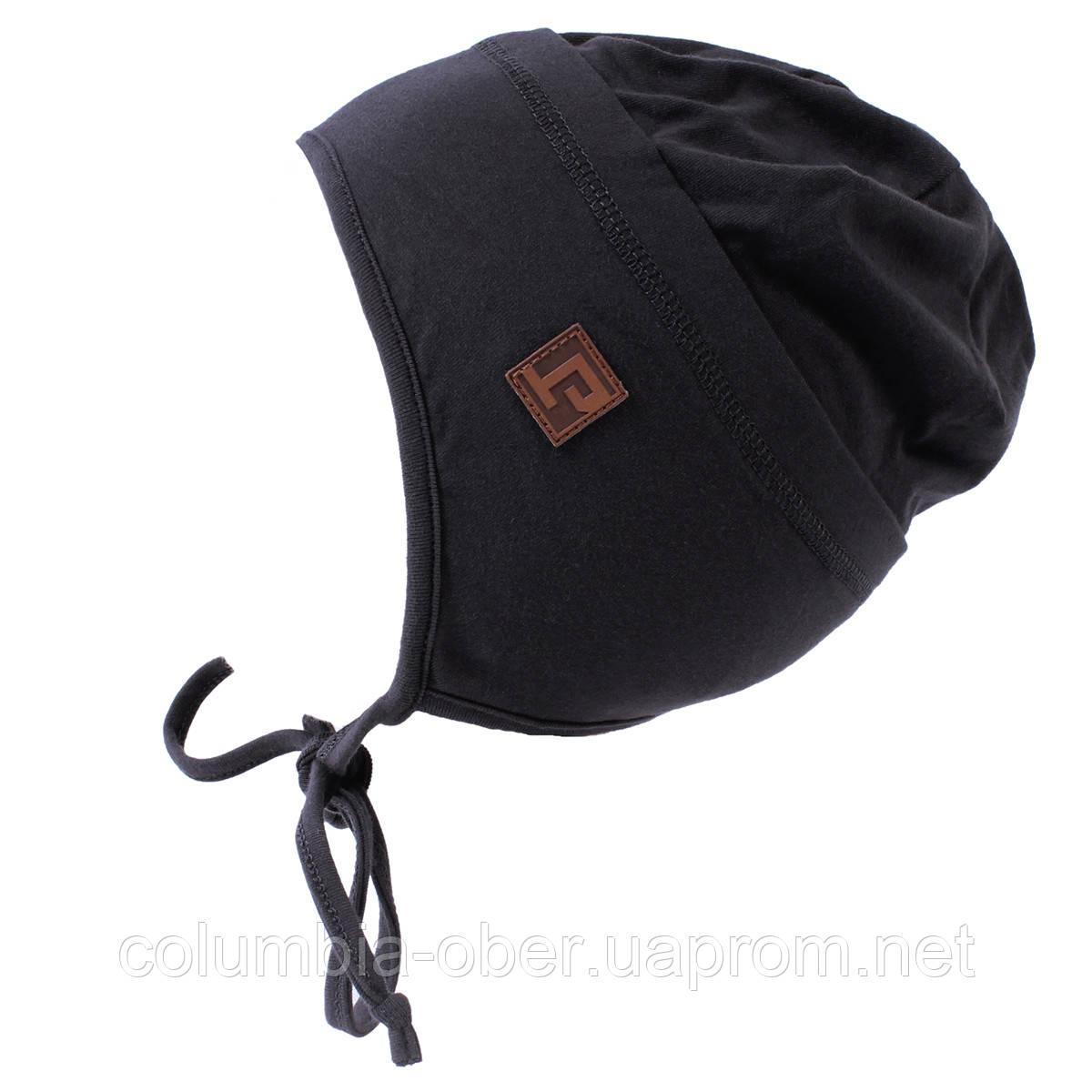 Демисезонная шапка для мальчика Peluche S18 TU 57 EG Deep Gray. Размеры 3/5, 6/8.