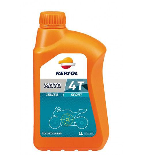Моторное масло Repsol Moto Sport 4T 15W50 (1л)