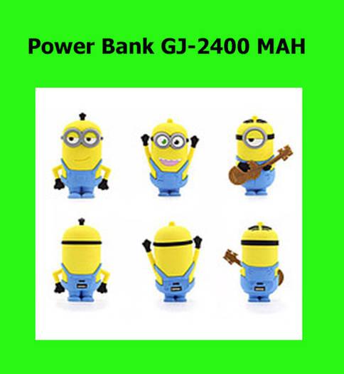 Портативное зарядное устройство Power Bank GJ-2400 MAH!Опт