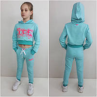 Спортивный костюм с топом So Dope от 7 лет до подростка мятный