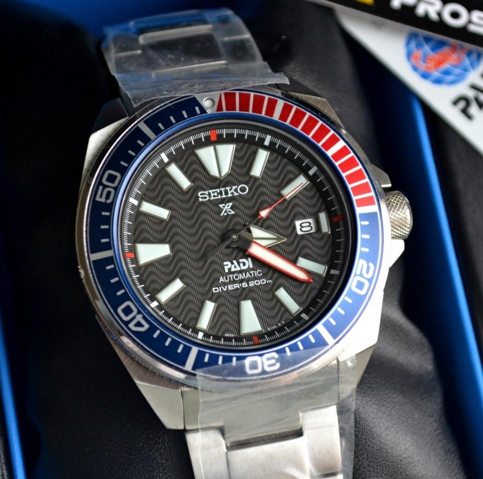 Часы Seiko Prospex Samurai SRPB99 Automatic Diver's 4R35  SPECIAL EDITION!