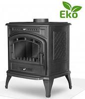 Чугунная печь KAW-MET P7, 9 кВт (Eco) lдвойной дожиг