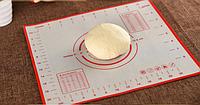 Силиконовый коврик для раскатки, выпечки теса -40 +230 размер 40*50см