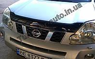 Мухобойка, дефлектор капота Nissan X-Trail 2007-2012 (EGR/Австралия), фото 1
