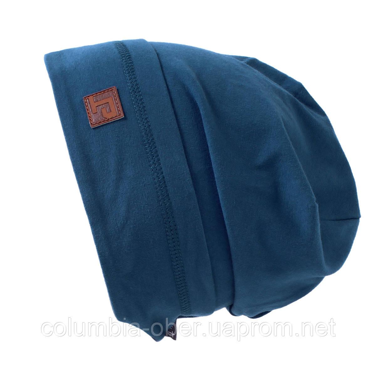 Демисезонная шапка для мальчика Peluche S18 TU 63 CEG Flash Fjord. Размер 6/8.