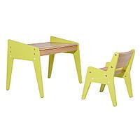 Детский стол и стульчик OMINO Green, FunDesk
