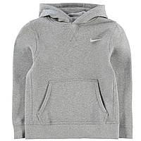 Nike Fund Флисовая Толстовка Для Мальчика-Подростка Серая