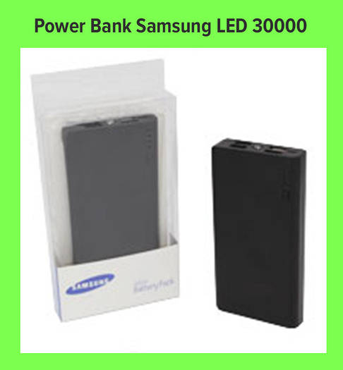 Power Bank Samsung Повер Банк LED 30000!Опт