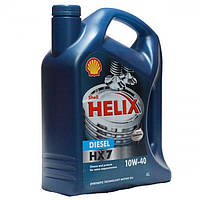 Моторное масло Shell Helix HX7 SAE 10W-40 4л