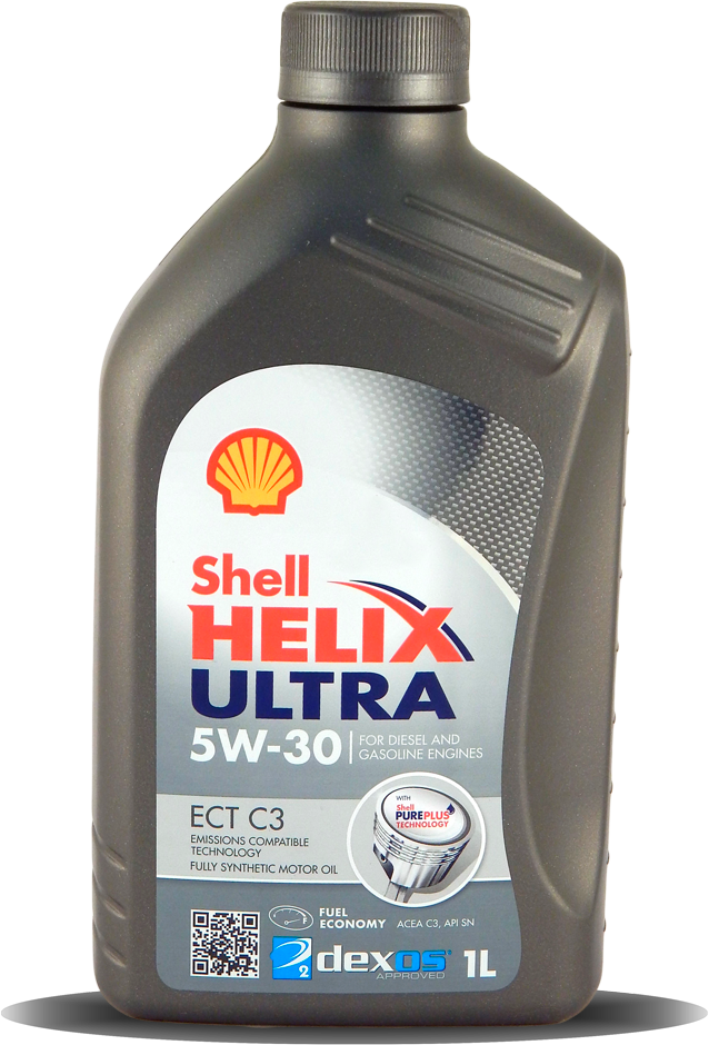 Моторное масло Shell Helix Ultra ECT С3 5W-30 SN/CF 1л