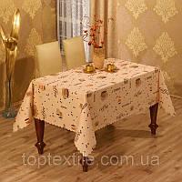"""Скатерть на стол """"Coffee"""" 140х180, фото 1"""