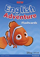New English Adventure starter A + B FlashCards