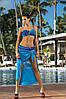Двухцветный раздельный купальник Liliana  Marko S, синий
