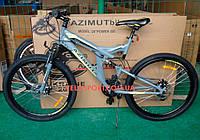 Горный велосипед Azimut Power 26 GD серый