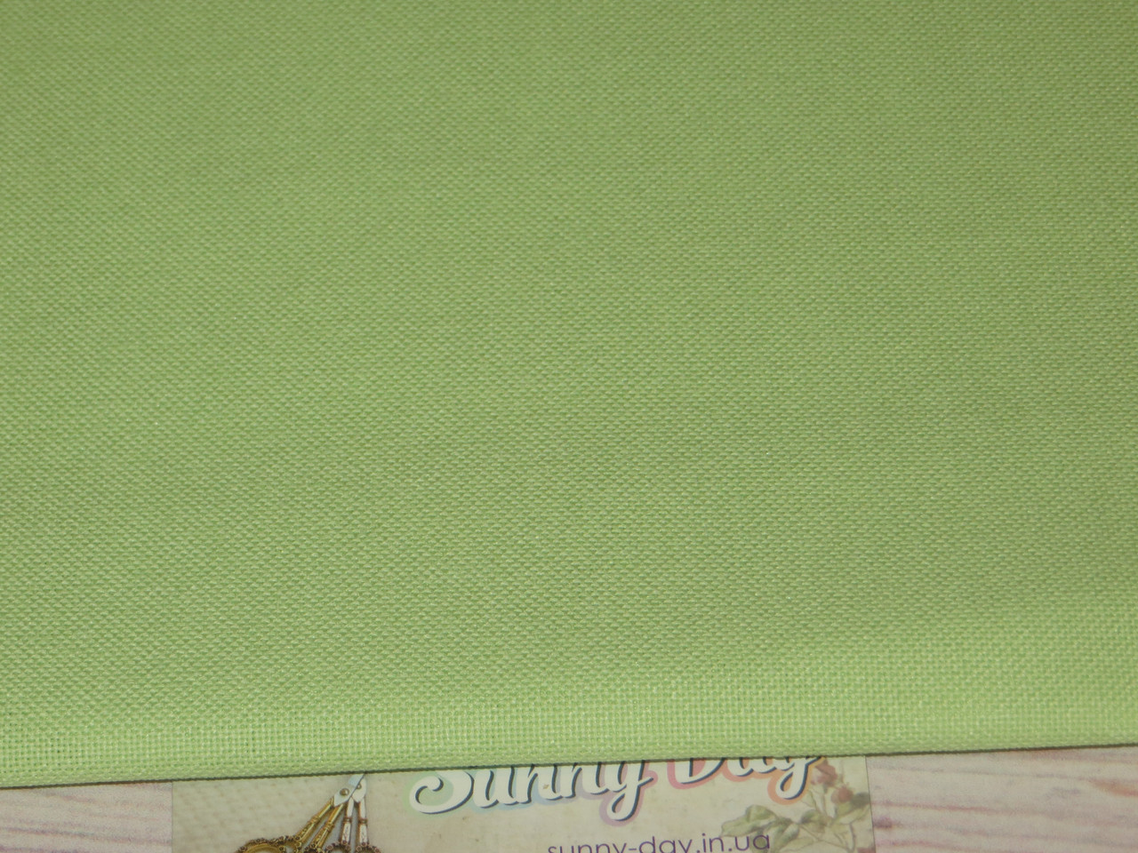 3984/6122, Murano Lugana, цвет - Lime (лайм), 32ct