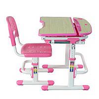 Комплект Парта и стул-трансформеры Sorriso Pink, FunDesk