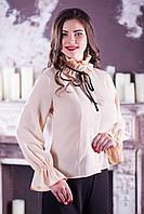 Нарядная женская блуза №2121