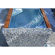 Урна для мусора «Грант» уличная бетонная, фото 3