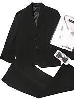 Детский костюм для мальчика черный  (дошкольная группа)