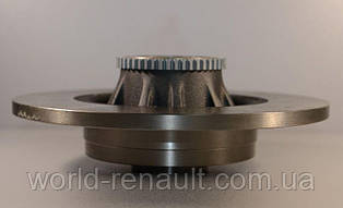 Renault (Original) 7711130076 - Задний тормозной диск с подшипником на Рено Трафик II 01г->