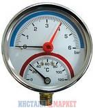 Термоманометр с клапаном ∅ 1/2, фото 5