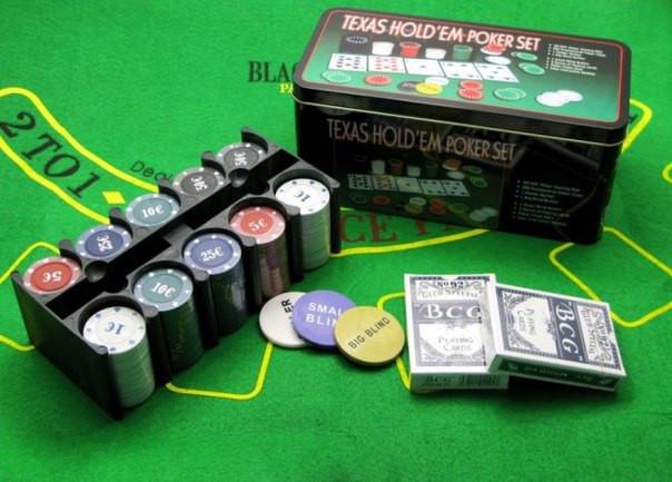 """Покерный набор на 200 фишек+сукно - Интернет-магазин """"Paradise"""" в Киеве"""