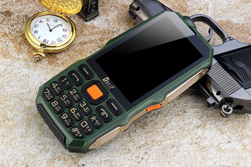 c131457ee197 ... Защищенный противоударный телефон ленд ровер Land Rover (Dbeif) D2017  2sim, батарея 9800 mAh+ ...