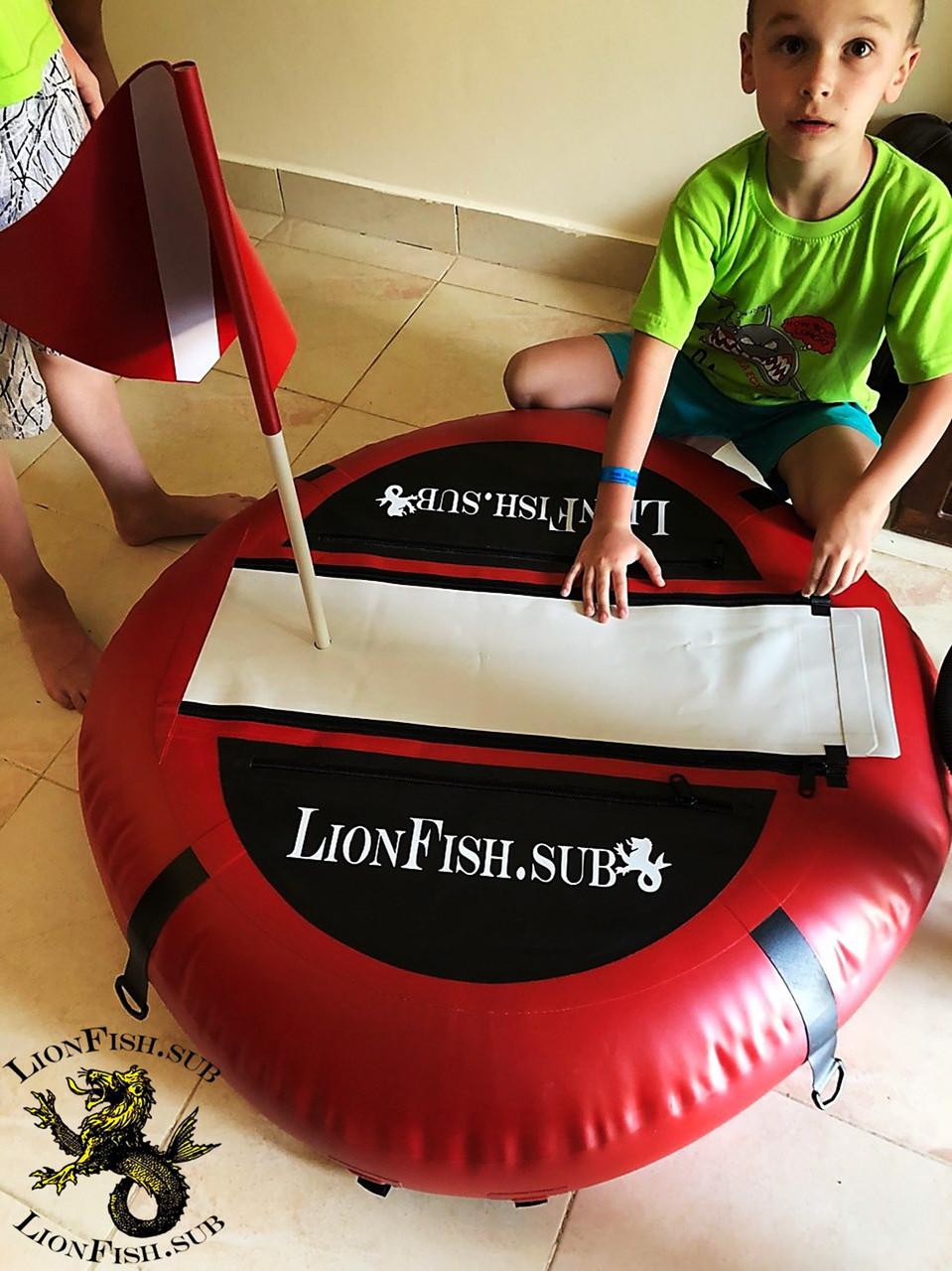 Буй для Фридайвинга и Подводной Охоты Freedaiv LionFish.sub