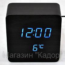 Настольные часы с синей подсветкой VST-872-5, фото 2