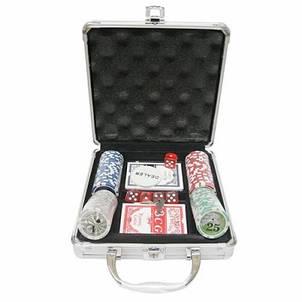 Покерный набор в кейсе Professional Poker 100 фишек, фото 2