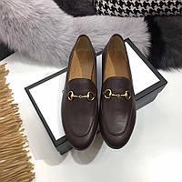 Классические туфли из натуральной кожи Gucci