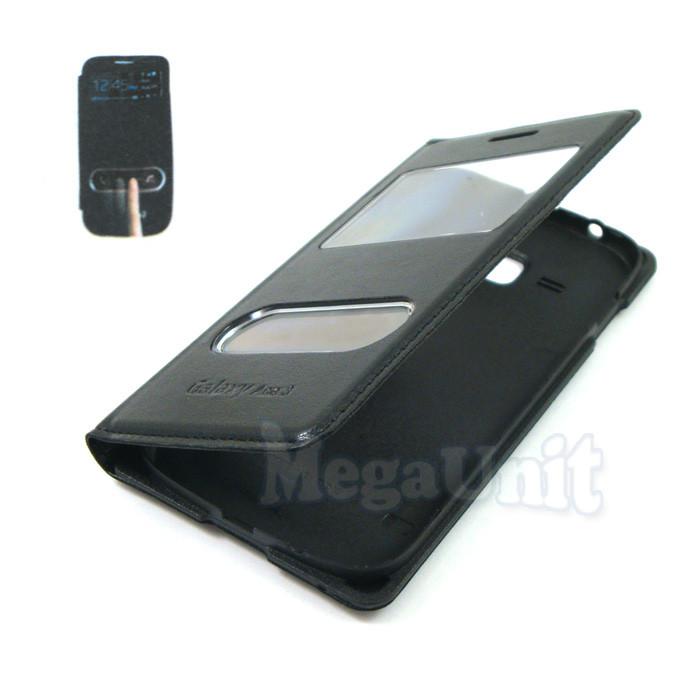 Чехол-панель S View Cover для Samsung Galaxy Ace 3 s7270 / s7272 Черный