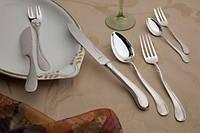 Оригинальные Немецкие столовые приборы из серебра - коллекция Тюльпан